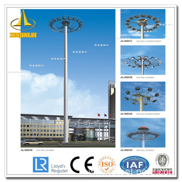 Powder Coating High Mast Lighting Post